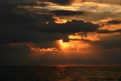 5 słońce Zdjęcia Royalty Free