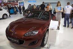 5 samochodów Mazda mx Fotografia Royalty Free