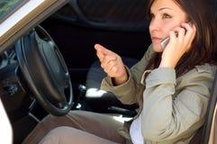 5 samochodów problem obraz royalty free