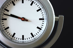 5 seconds. Timer recording of a clock depicting the passing of 5 seconds stock photography