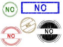 5 sellos de la oficina del efecto de Grunge - NO libre illustration