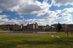 5 slott england leeds Royaltyfria Bilder