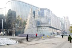 5 square shopping mall in Jinnan,China Stock Photos