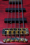 5 String Bass. Closeup of 5 string bass guitar Royalty Free Stock Photos