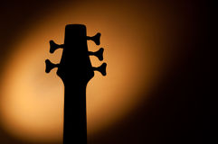 5 string bass shadow Stock Photos