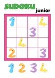 5 sudoku 83 игр Стоковая Фотография