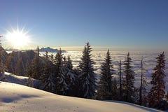 5 szwajcarskie alpy Fotografia Stock