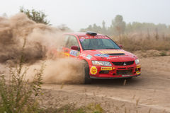 The 5-th stage of the championship of Ukraine  Stock Image