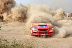 The 5-th stage of the championship of Ukraine Royalty Free Stock Image