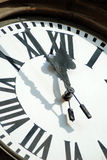 5 to noon royalty free stock photo