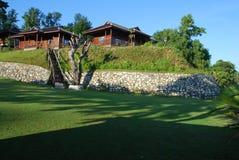 5 tropiska semesterorter Royaltyfria Bilder