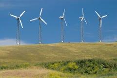 5 turbinas Imagens de Stock Royalty Free