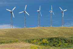 5 Turbines Royalty Free Stock Images
