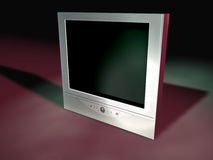 5 tv flatscreen Fotografia Stock