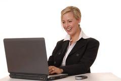 5 urocza dama przedsiębiorstw Zdjęcie Stock