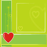 5 valentiner vektor illustrationer