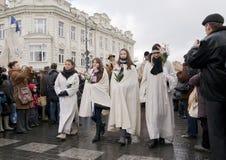 5 vilnius-MAART 2011 Royalty-vrije Stock Foto