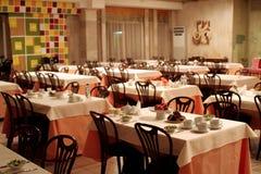 5 wnętrzy restauracji Obrazy Royalty Free
