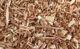 5 wood shavings Royaltyfri Foto