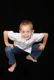 5 year old boy Stock Photo