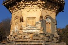 5 yinshan pagodas Royaltyfria Foton