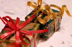 5 zapakować prezent Obrazy Stock