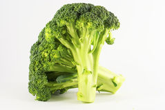 5 zielonych brocolli serries Obrazy Royalty Free