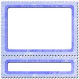 5 znaczka pocztowego Obrazy Stock