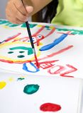 5 zoey ζωγραφικής στοκ φωτογραφία με δικαίωμα ελεύθερης χρήσης