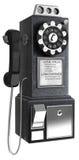 50公用电话s 向量例证