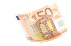 50欧元 库存图片