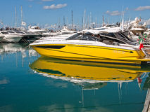 50 ° Genoa Boat Show Stock Photos
