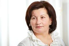 50 éénjarigen bedrijfsvrouw royalty-vrije stock foto's
