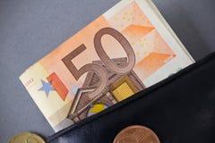 50 евро Стоковая Фотография RF