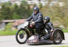50 1931 motorbiketappning för condor D Royaltyfri Fotografi