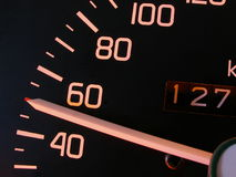 50. Km/h indicator stock photography