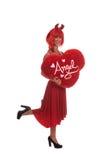 50 50 Angel Devil royalty free stock image