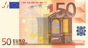 50 ευρώ Στοκ Εικόνες