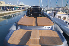 50. Ausgabe des Bootserscheinens von Genua, Italien Lizenzfreies Stockbild