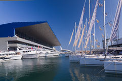 50. Ausgabe des Bootserscheinens von Genua, Italien Stockbild