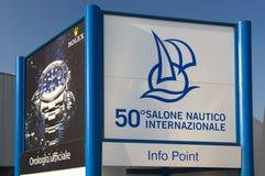 50. Ausgabe des Bootserscheinens von Genua, Italien Lizenzfreies Stockfoto