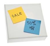 50 av försäljning Arkivfoton