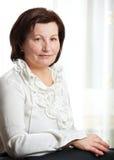 50 biznesowa roczniak kobieta Zdjęcia Stock