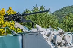 Free 50-caliber M2 Browning Machine Gun Stock Photography - 160324312