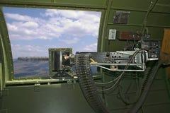.50 calorie. Mitragliatrice della vita B-17 Fotografia Stock