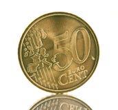 50 cents Arkivbilder