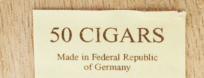 50 cigars Stock Photography