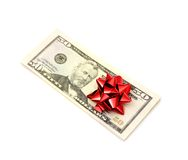 50 dólares Imagem de Stock Royalty Free