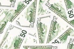 50 dollari Fotografia Stock Libera da Diritti