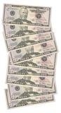 50 dollari US Fotografia Stock